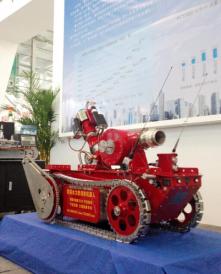 鞍山火凤凰水力型消防灭火机器人HFH-4S-SLSP-80A(基本款)